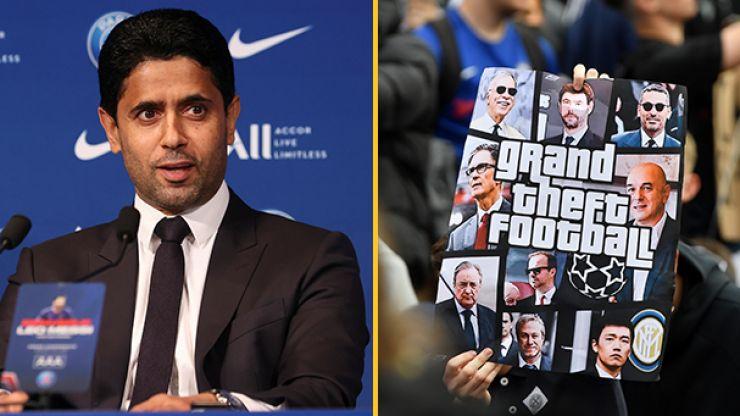 PSG chairman Nasser Al-Khelaifi slates the Super League clubs