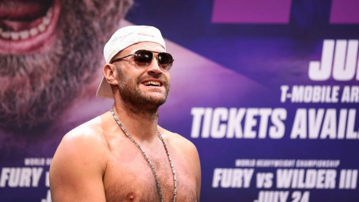 Tyson Fury raves into the night in Las Vegas club after knocking Wilder out