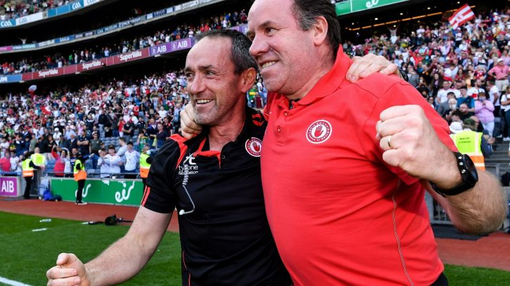 """""""Logan would break up a fight, and Dooher would get into one"""" - Why the Tyrone managers successfully work together"""
