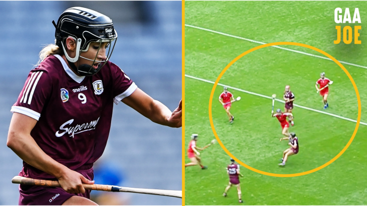Niamh Kilkenny scored a point so amazing it's worth watching again...and again