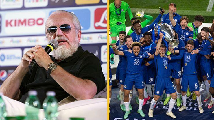 Napoli president plots new, lucrative tournament replace Champions League