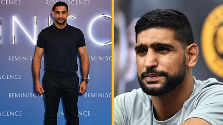 Amir Khan removed from US flight over face coverings row