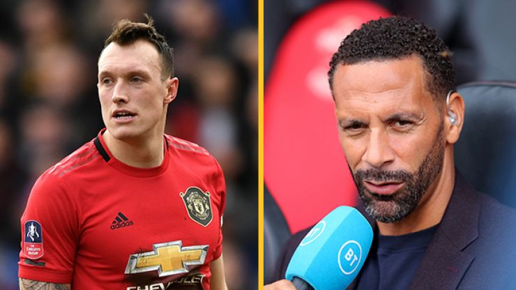 """Phil Jones fires back at """"really poor"""" Rio Ferdinand comments"""