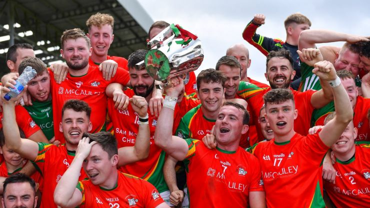 """""""It means everything to get over the line"""" - Rapparees finally end 43-year wait for senior hurling championship title"""