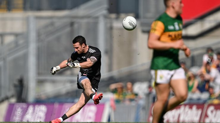 Niall Morgan explains Tyrone's kick out plans and why going long was a key part of their plan