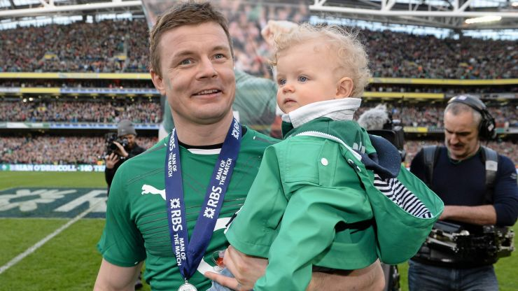 """""""Do we want more for our sons than we do our daughters? Nonsense"""" - Brian O'Driscoll"""