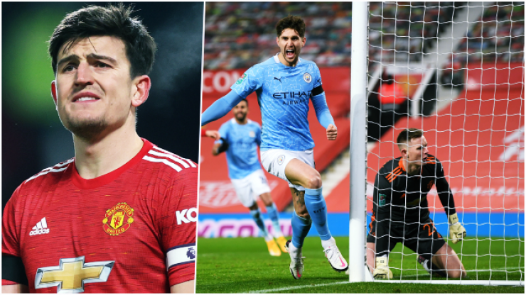 Harry Maguire chooses worst moment to switch off as City beat United