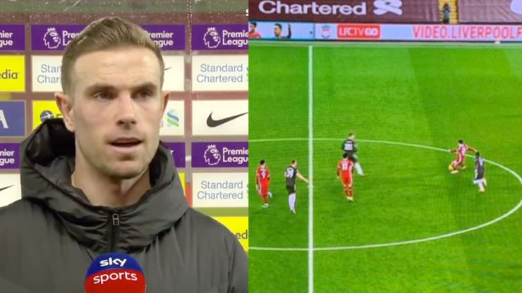 """Jordan Henderson says Liverpool were frustrated by """"strange"""" half-time whistle call"""