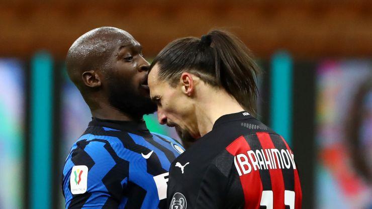 Ibrahimovic tells teammates no racist words were used in Lukaku exchange
