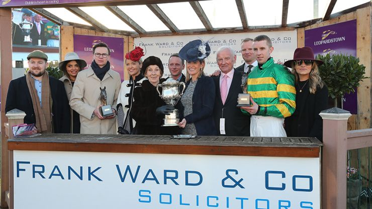 Ward link with The Irish Arkle lives on for the Dublin Racing Festival