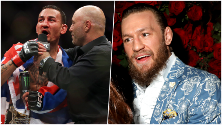 Max Holloway appearance gave Conor McGregor a surprise before UFC 257