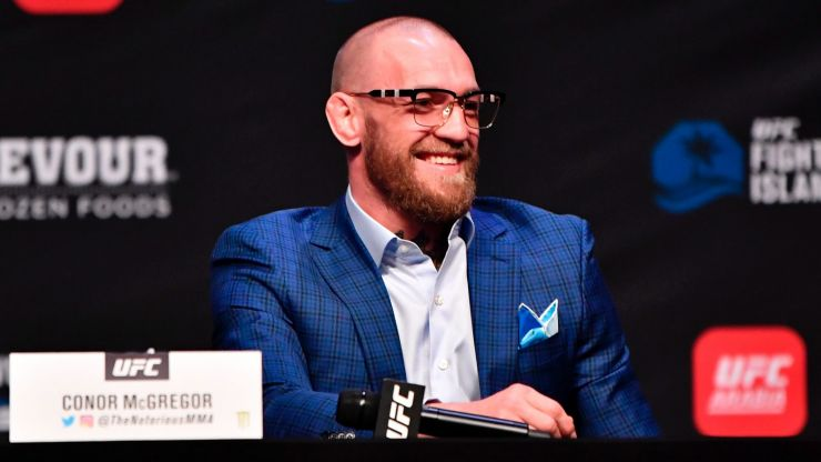 """""""Book it. I'm in!"""" - Conor McGregor happy with tournament idea for lightweight belt"""