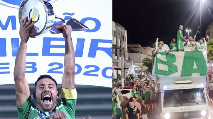 Four years on from Chapecoense plane tragedy, Alan Ruschel lifts Serie B trophy