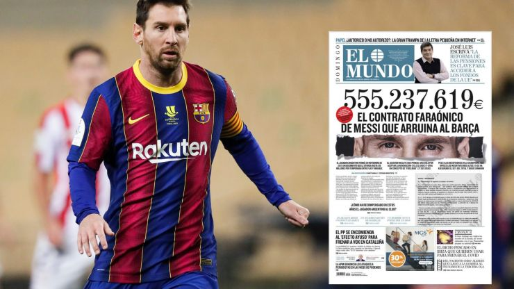 Lionel Messi to sue newspaper that published staggering details of his contract