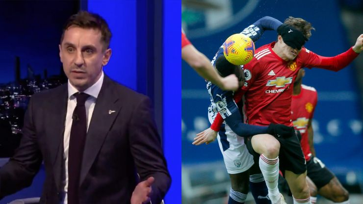 Gary Neville says Man Utd defensive trio not good enough to win league