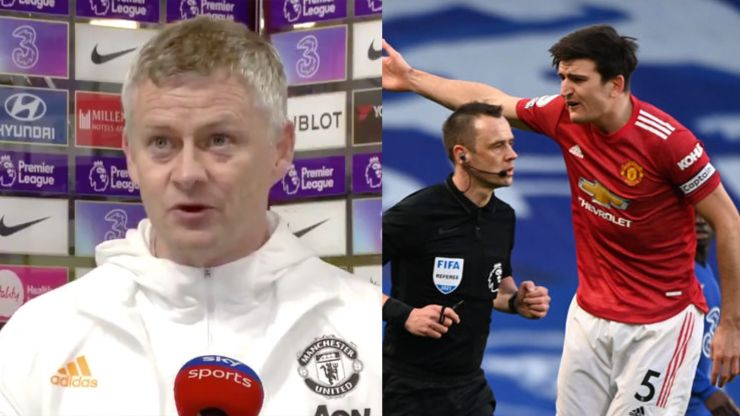 "Solskjaer hits out at ""outside influences"" on referees over Man Utd decisions"