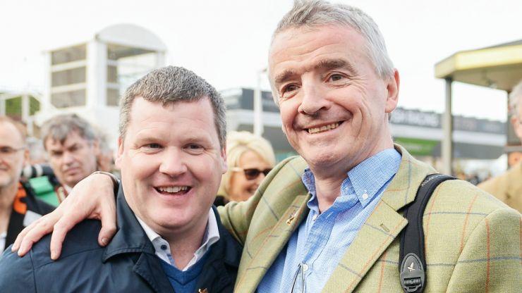 "Michael O'Leary stands by Gordon Elliott despite ""grievous"" lapse in judgement"