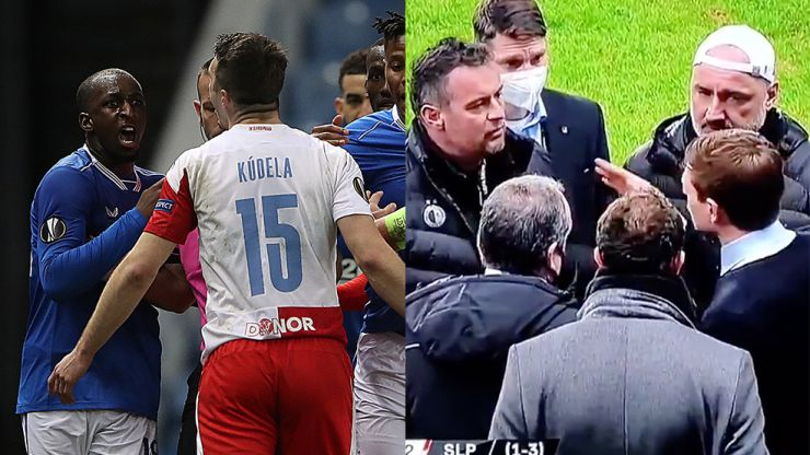 Steven Gerrard calls for Uefa action over comment made to Glen Kamara