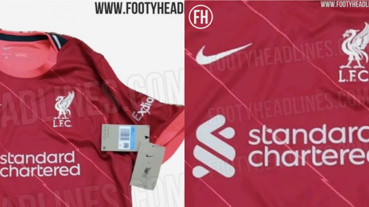 Next season's Liverpool jersey leaked and fans are divided
