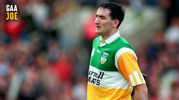 Big, strong and old-style Kinahan turned full back play into an art-form