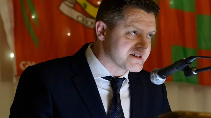 Mayo GAA chairman Liam Moffat is stepping down from his position after just two years