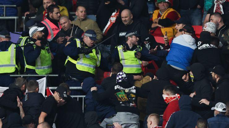 Hungarian football federation accuses FA of causing Wembley chaos