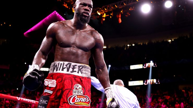 Deontay Wilder breaks silence as he sends message congratulating Tyson Fury