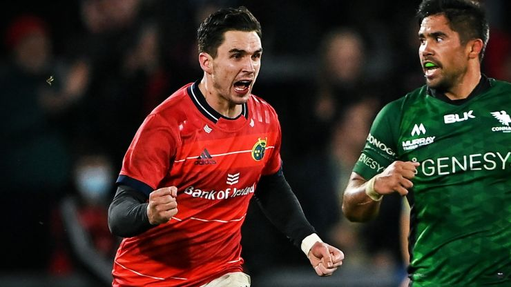 Joey Carbery put through the wringer before winning it for Munster